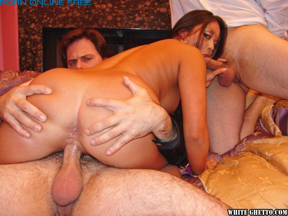 Gangbang curry creampie