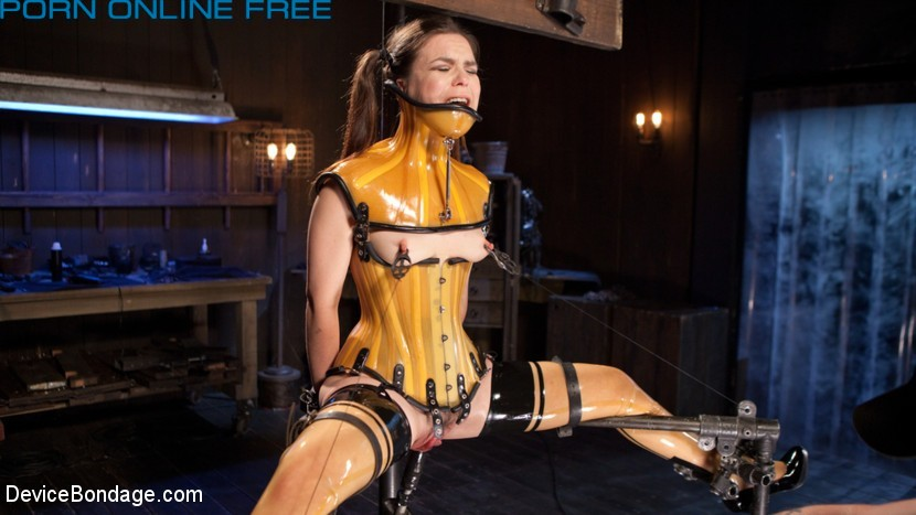 Whore Bound in a Euphoria of Depravity Devicebondage 2015 Juliette March  Handler, Humiliation